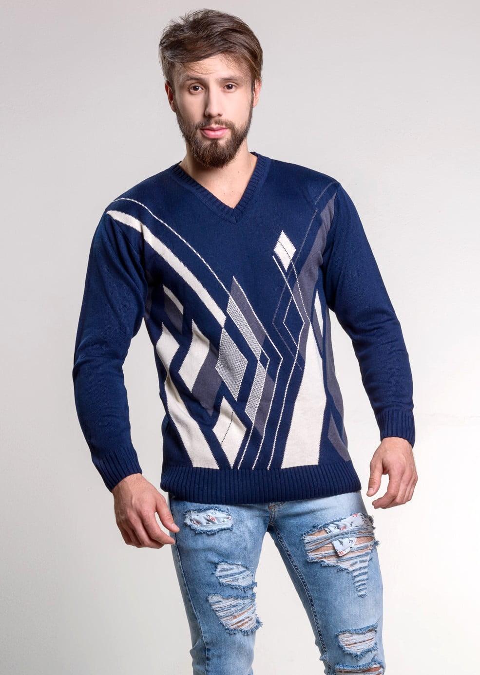 Suéter Geometric
