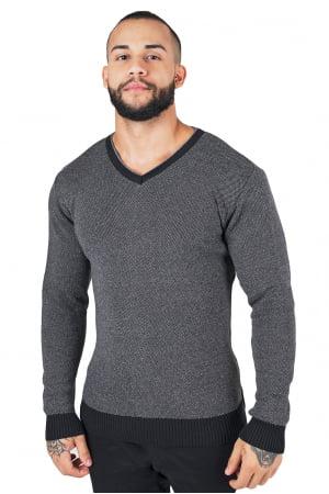 Suéter de Cotton Pontilhado