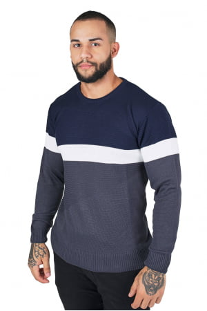 Suéter Links Faixa