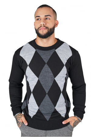 Suéter Losango Liso