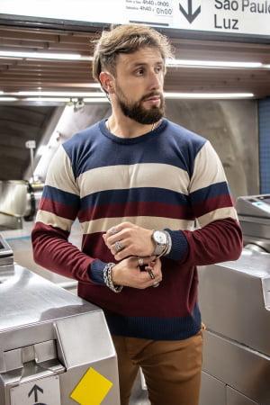 Suéter Cotton Mostard